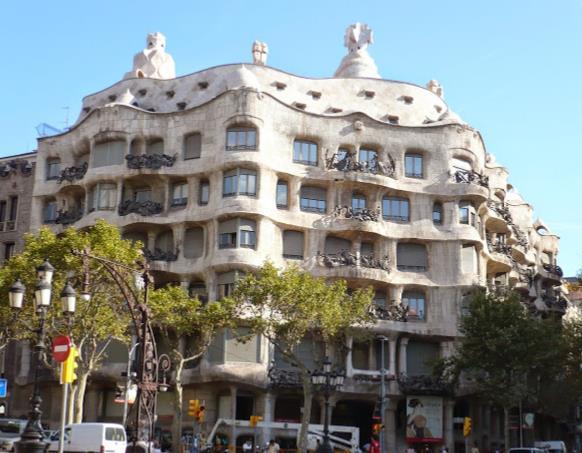Le opere di Gaudì Patrimonio Unesco a Barcellona Casa Mila