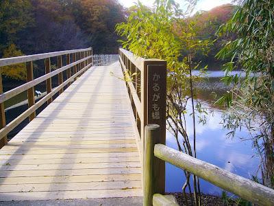 大阪府・府民の森〔緑の文化園〕むろいけ園地ハイキング かるがも橋