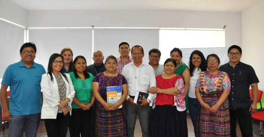 Perú comparte con Guatemala su experiencia en evaluaciones de logros de aprendizajes para estudiantes de poblaciones originarias y personas con discapacidad