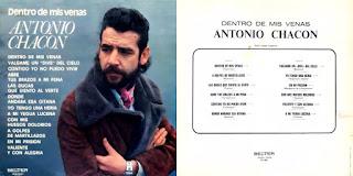"""ANTONIO CHACÓN, PACO CEPERO DENTRO """"DE MIS VENAS"""" BELTER 1976"""