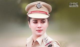khubsurat ladki, punjab police girl