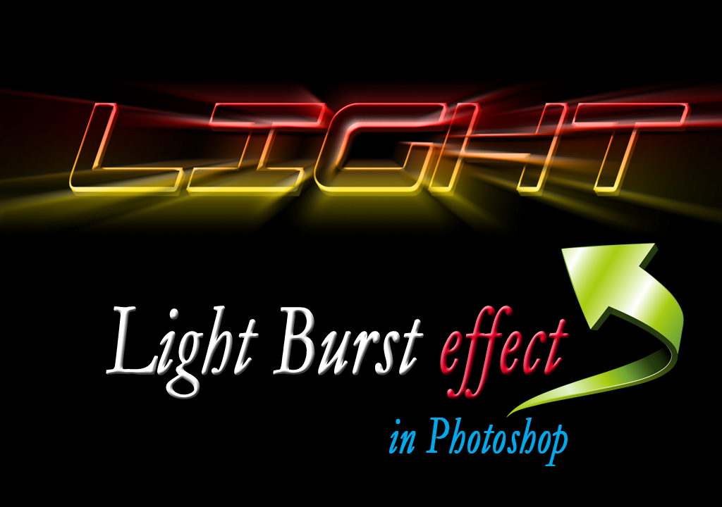 how to create light effect in photoshop