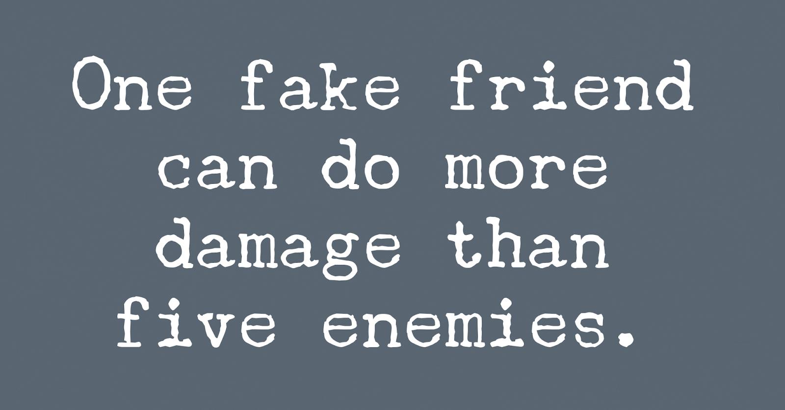 5 Ways To Spot A Fake Friend