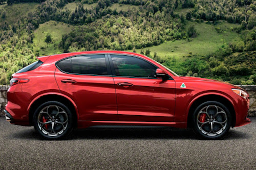 Alfa Stelvio QV Side Profile