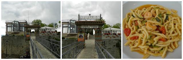 Restaurante Nido del Falco em San Marino e strozzapreti