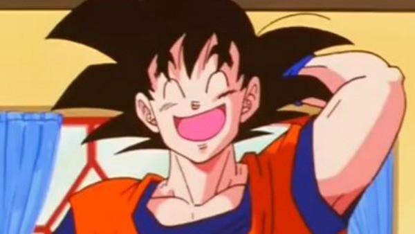Ainda estando casado, Goku nunca beijou sua esposa, e parece não tem a intenção de fazer.