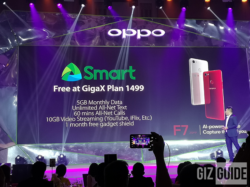 FREE at Smart's GigaX Plan 1499