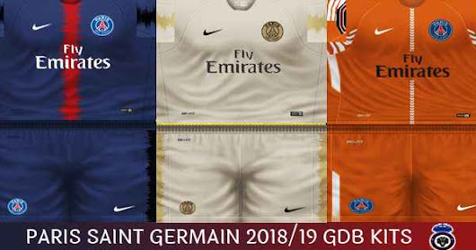 PES 6 Paris Saint Germain 2018/19 Kits GDB