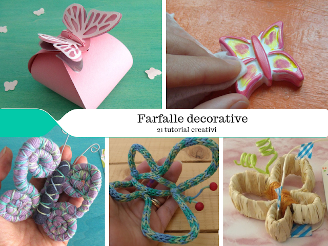 21 tutorial per creare farfalle decorative