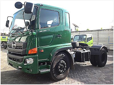 truk hino ranger sg 260 tractor head surabaya