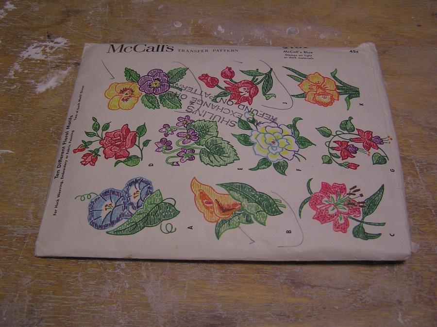 Fine Mess Pottery: Vintage Embroidery Patterns
