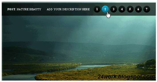 Add Beautiful jQuery Auto Playing Featured Content Image Slider to Blogger