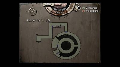 Location Map, Courtyard 1.UG, Resident Evil, HD Remaster, Jill Valentine
