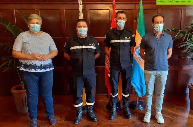 La Palma se despide de la UME y agradece su labor en el incendio de Garafía