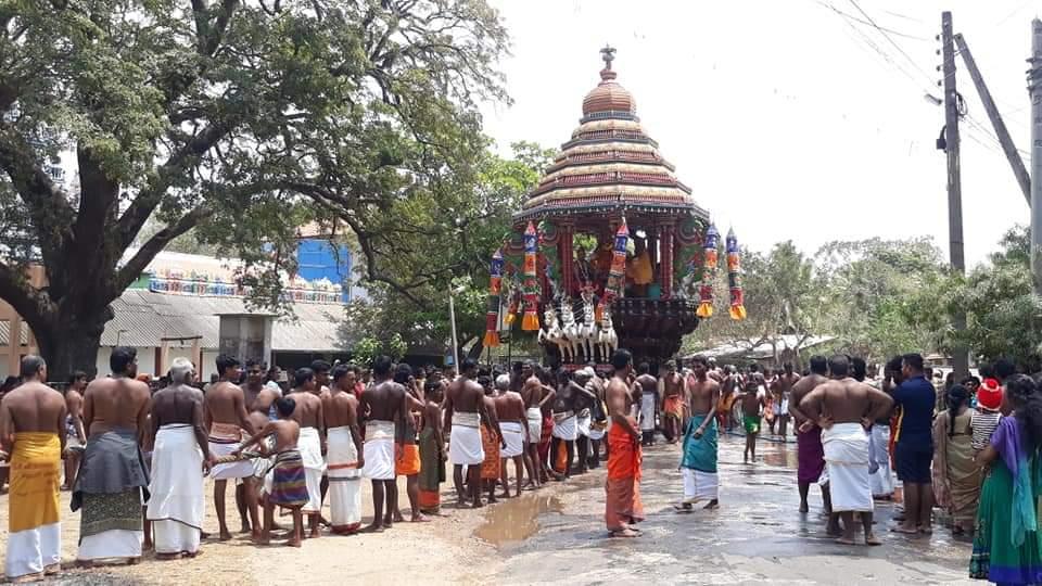 மூளாய் வதிரன்புலோ முத்துக்குமாரசுவாமி ஆலய இரதோற்சவம்!!