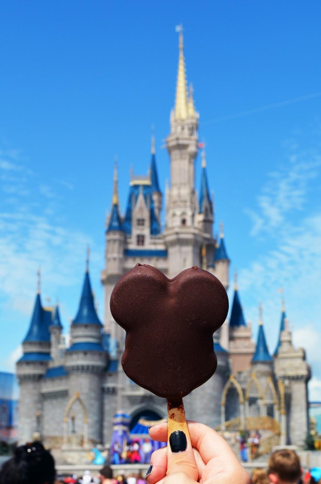mickey mouse ice-cream