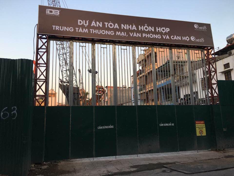 Cập nhật tiến độ thi công dự án chung cư One 18 Long Biên