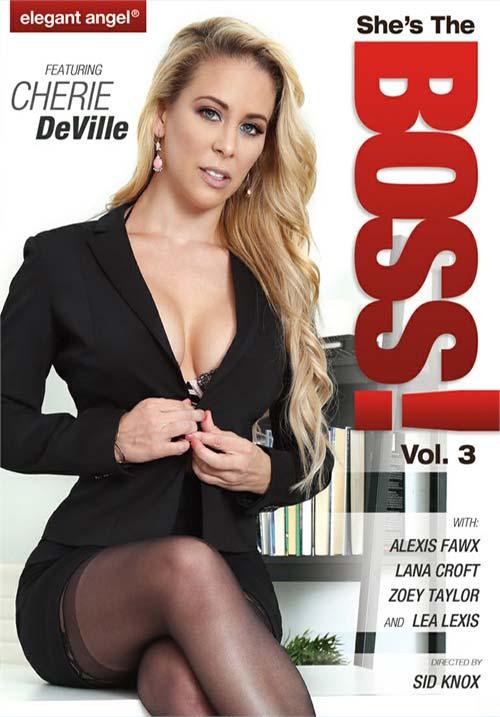 [18+] Shes The Boss 3 XXX Elegant Angel 2018 DVDRip x264 Poster