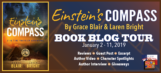 Einstein's Compass Book Blog Tour and #Giveaway #LoneStarLit