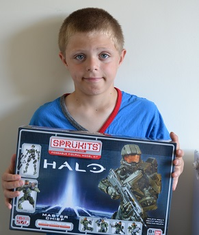 Bandai Sprukits HALO review @ Ups and downs, smiles and frowns