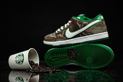 "competitive price 83bd9 d995e Nike SB Dunk Low Premium ""Starbucks"""