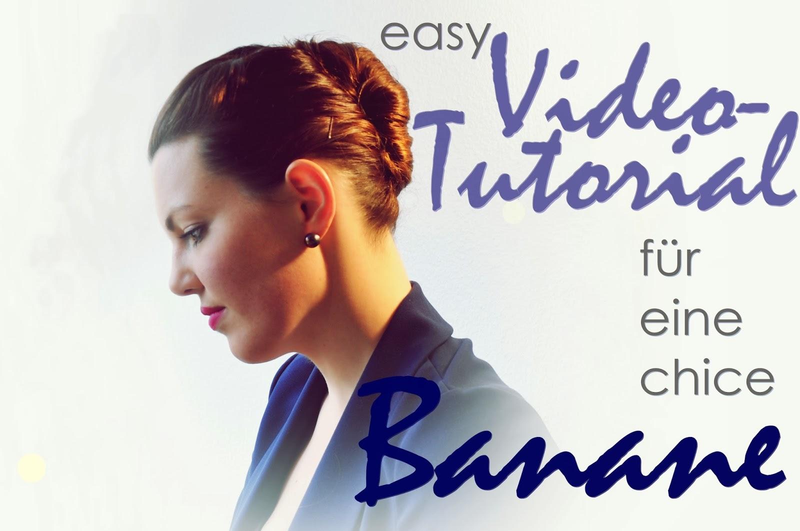 Easy Tutorial für eine chice Banane