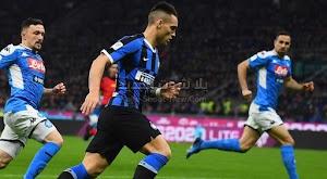 نابولي يفوز خارج ملعبه على انتر ميلان في ذهاب نصف النهائي من كأس إيطاليا