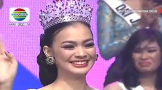 Kezia Roslin terpilih sebagai Puteri Indonesia 2016