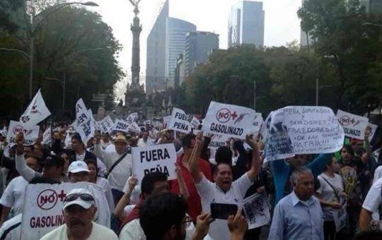 Campesinos mexicanos se movilizarán contra gasolinazo