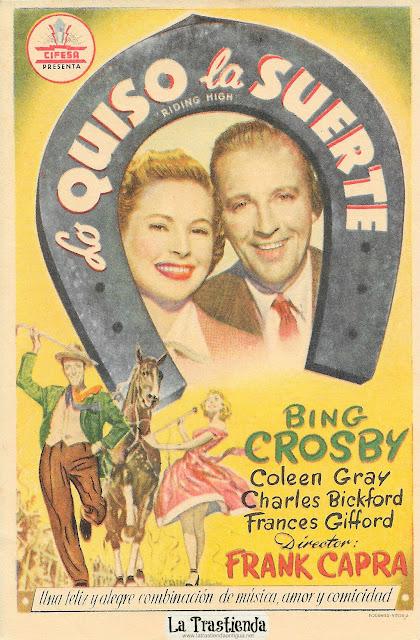 Lo Quiso la Suerte - Programa de Cine - Bing Crosby - Coleen Gray