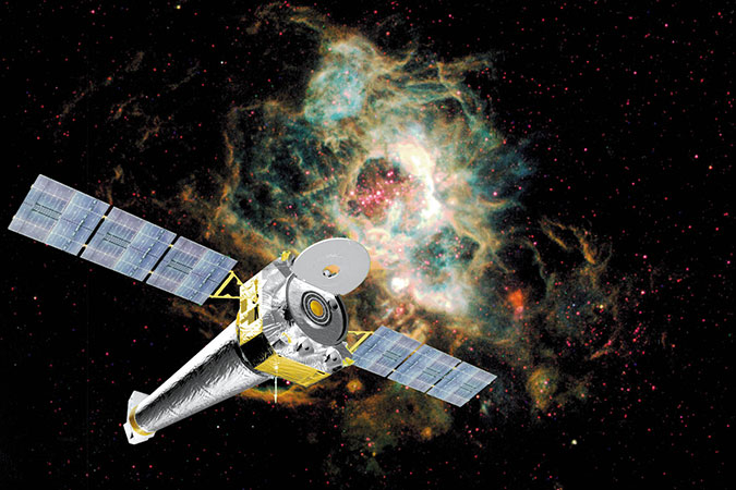 Penelitian Chandra X-ray Observatory Into Safe Mode Due to Gyroscope Failure