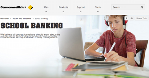 "Initiative ""School Banking"" de CommBank"