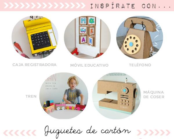 DIY: 5 juguetes de cartón