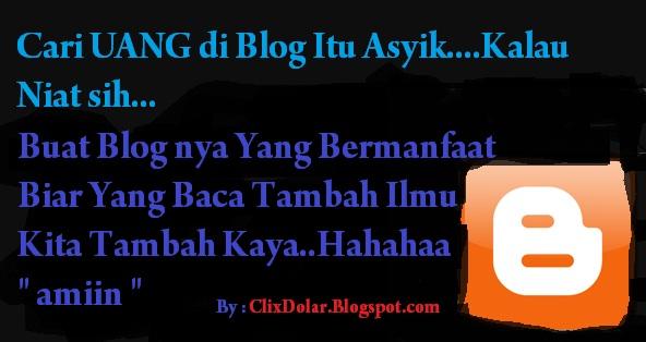 Trik Jitu mencari Uang di Internet Bersama Blog
