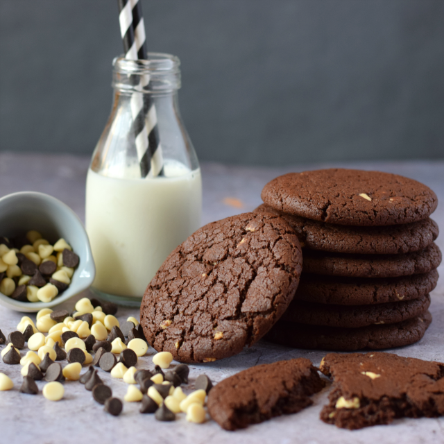 Easy Double Chocolate Cookie recipe