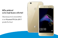 Castiga un smartphone Huawei P9 Lite 2017