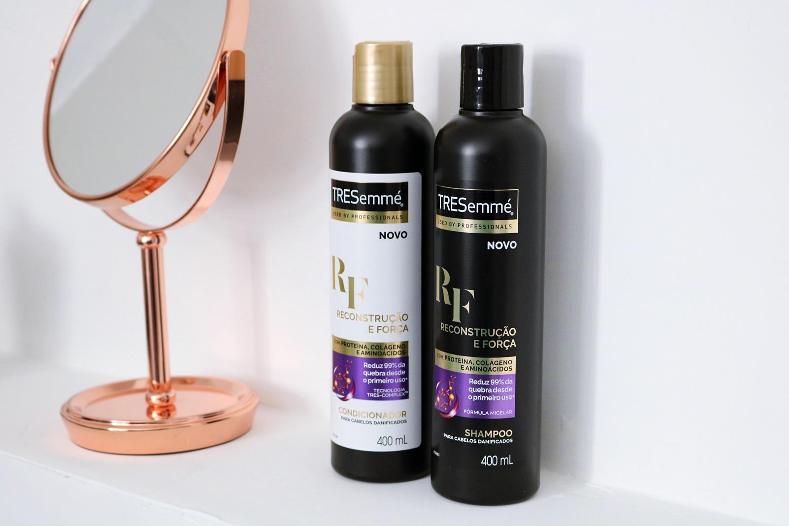 Resenha: TRESemmé Reconstrução e Força Shampoo Condicionador