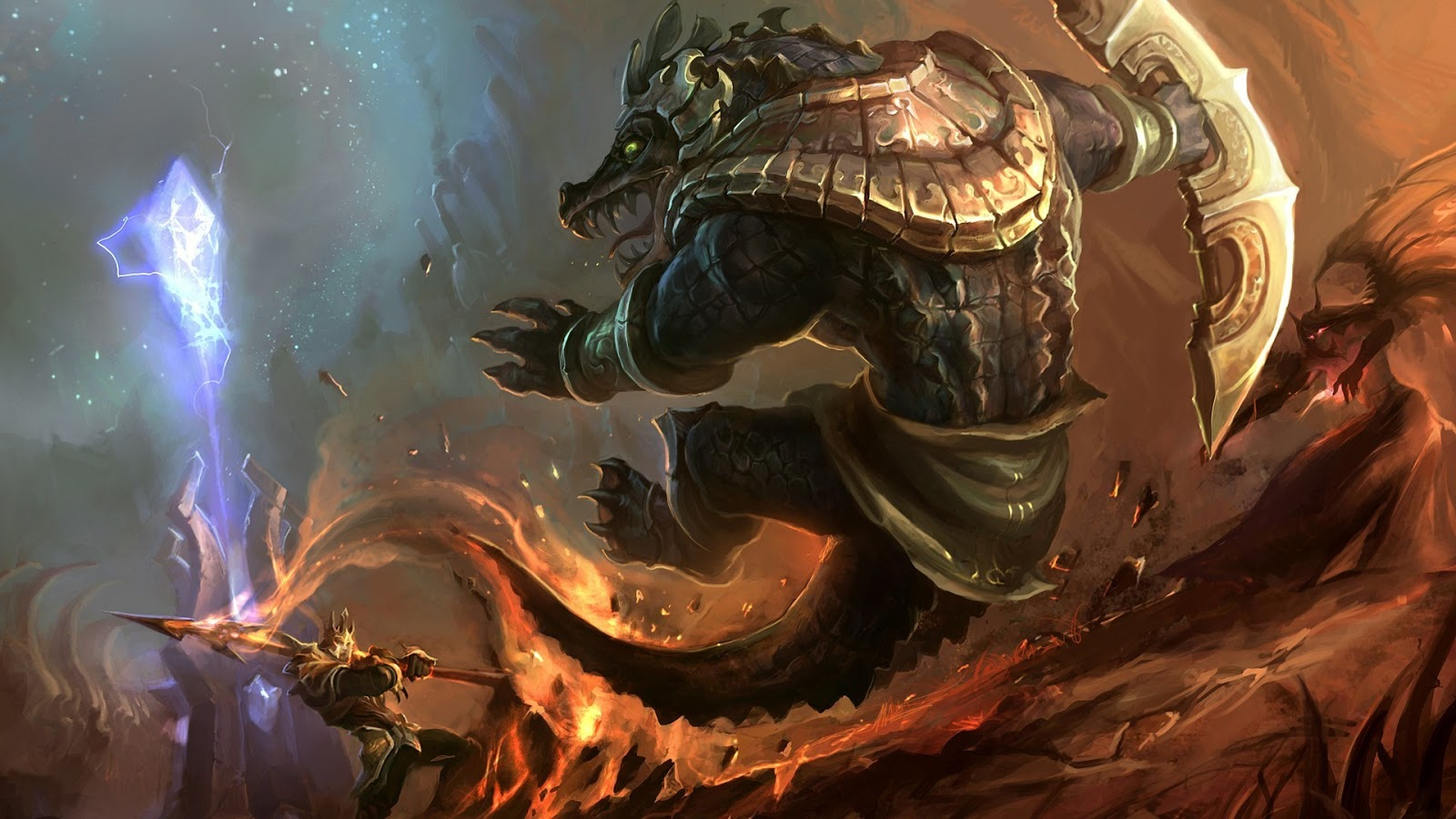 Lol Wallpapers: League Of Legends Renekton Wallpapers (Chinese