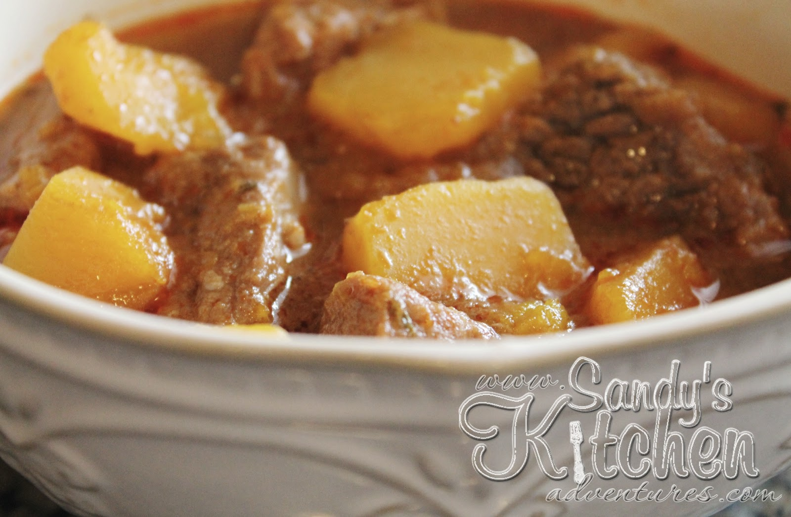 One Of My Favorite Soups Is A Rich Hearty Beef Stew That Is Full Of Flavor I Love Making My Beef Stew With Lots Of White Potatoes Sweet Potatoes