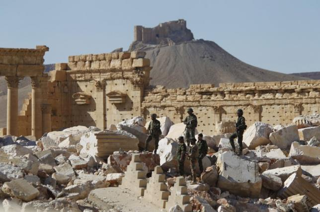 New materials needed to rebuild monuments in Syria's Palmyra