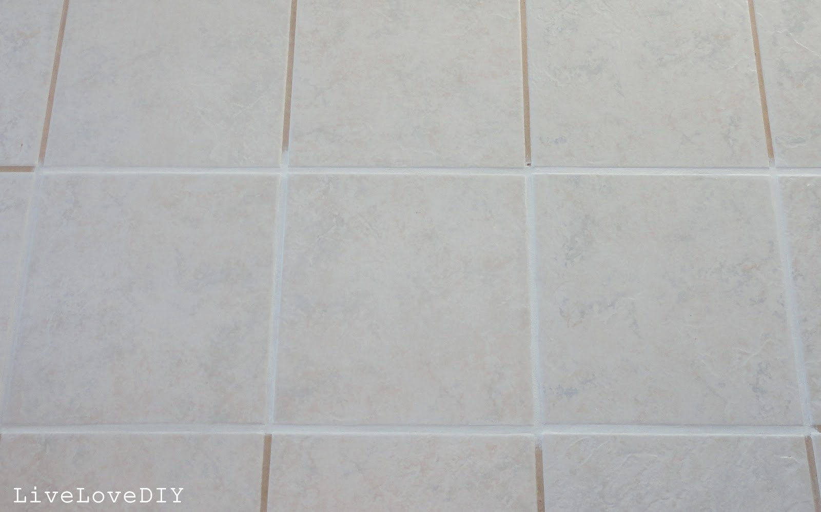 White Tile With White Grout