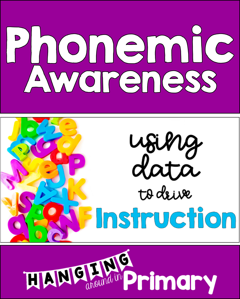 How To Use Data To Drive Phonemic Awareness Instruction Hanging