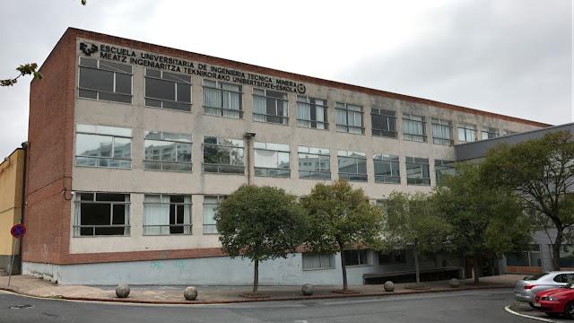 Instalaciones de la antigua escuela universitaria de Minas