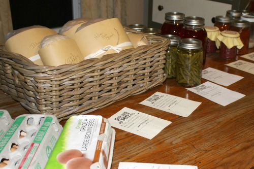 How to Host a Homespun Swap #foodswap #sustainableliving #realfood #handcraft