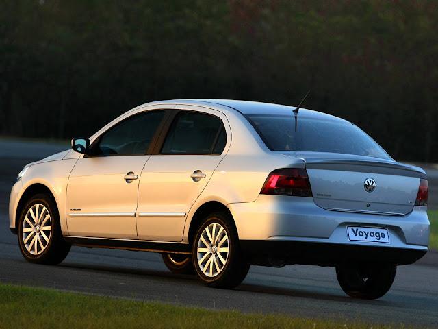VW Voyage 2008