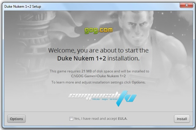 Duke Nukem 1 y 2 PC Game GOG