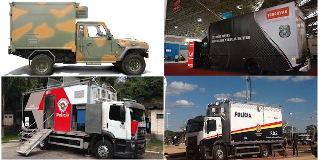 Truckvan apresenta sua nova solução sobre rodas para defesa e segurança