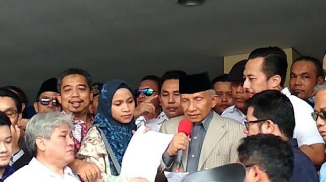 Teriakan Putri Amien Rais Redam Kericuhan di Polda Metro Jaya