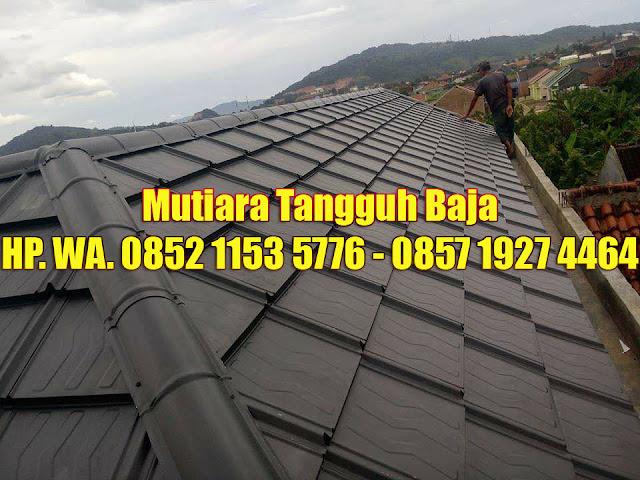 Genteng Metal Minimalis Koko Roof Modern Pertama dengan Rusuk Timbul