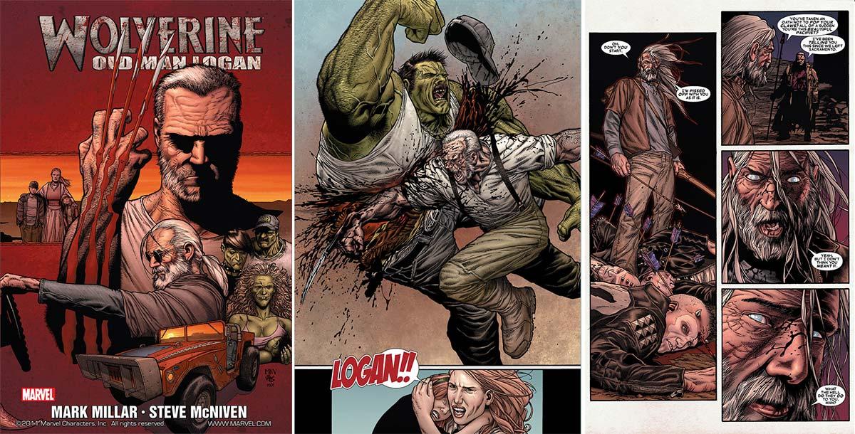 Старик Логан, Old Man Logan, Росомаха в будущем, Wolverine